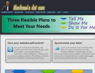 nerdmans.com screenshot