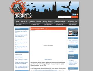 nerdnyc.com screenshot