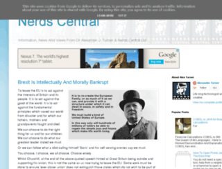 nerds-central.blogspot.fr screenshot