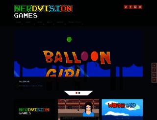 nerdvision.net screenshot