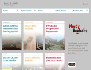 nerdybookahs.wordpress.com screenshot