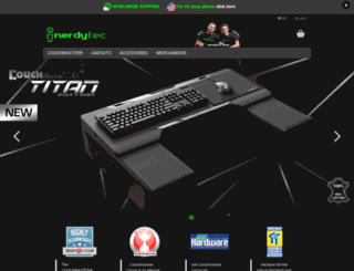 nerdytec.com screenshot