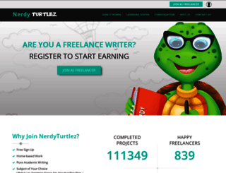 nerdyturtlez.com screenshot