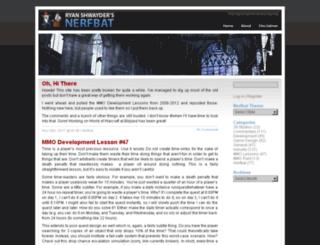 nerfbat.com screenshot