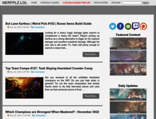 nerfplz.com screenshot
