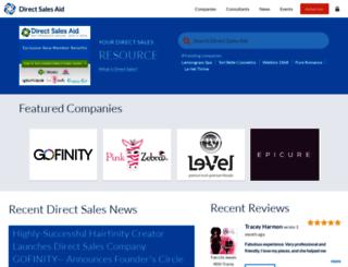 nerium-international.directsalesaid.com screenshot