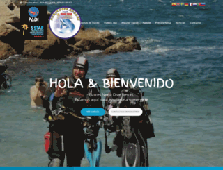 nerjadiving.com screenshot