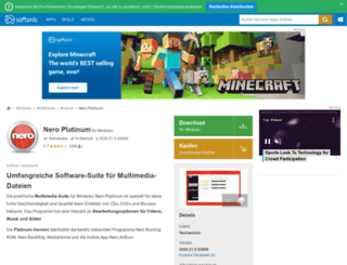 nero-2015-platinum.softonic.de screenshot