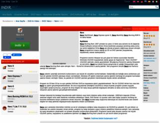 nero.indir.biz screenshot