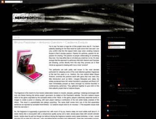 neroprofumo.blogspot.com screenshot