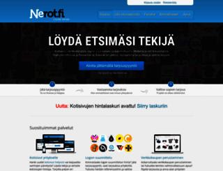 nerot.fi screenshot