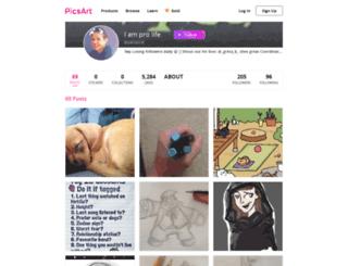 nerra3-d.picsart.com screenshot