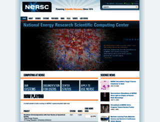 nersc.gov screenshot