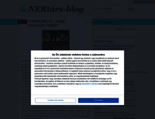 nertars.blog.hu screenshot