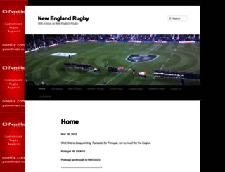 nerugby.com screenshot