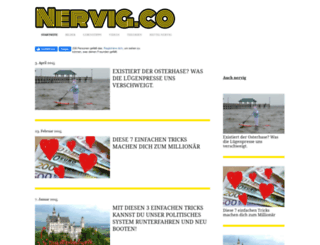 nervig.co screenshot