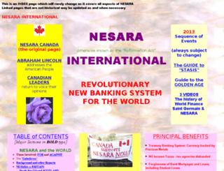 nesara.insights2.org screenshot
