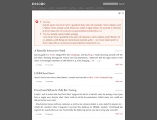 nesono.com screenshot