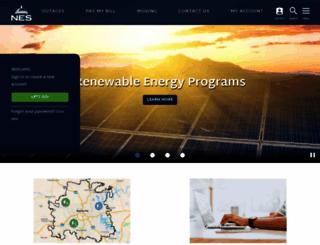 nespower.com screenshot