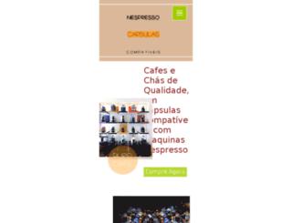 nespressocapsulas.com screenshot