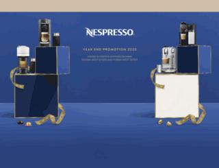 nespressopromotion.com.au screenshot