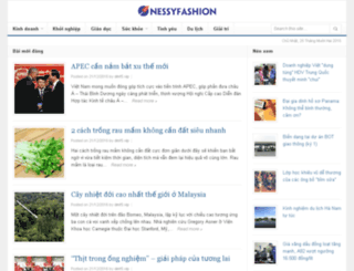 nessyfashion.com screenshot