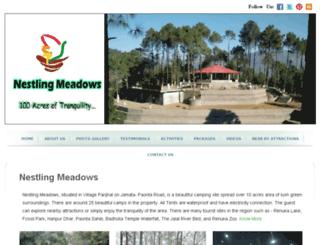 nestlingmeadows.com screenshot