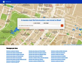 nestoria.com.br screenshot