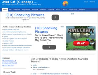 net-csharp.itags.org screenshot