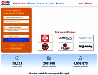 net-empregos.com screenshot