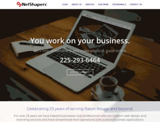 net-shapers.com screenshot