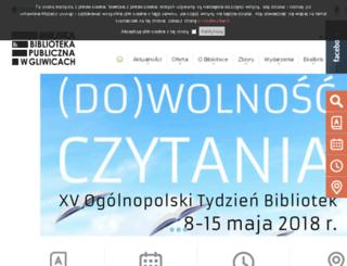 net.biblioteka.gliwice.pl screenshot