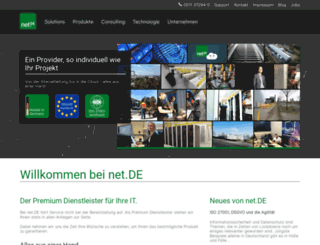 net.de screenshot