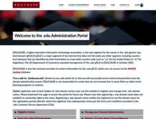 net.educause.edu screenshot