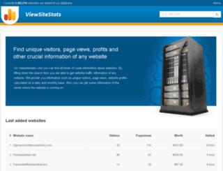 net.viewsitestats.com screenshot