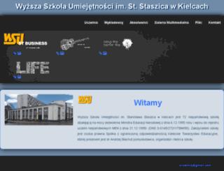 net.wsu.kielce.pl screenshot