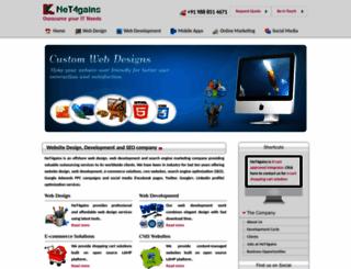 net4gains.biz screenshot