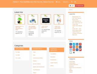 netads.in screenshot