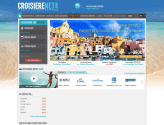 netaf.croisierenet.com screenshot