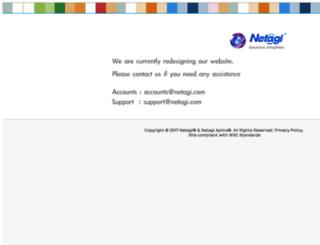 netagi.com screenshot