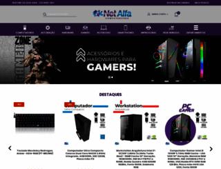 netalfa.com.br screenshot