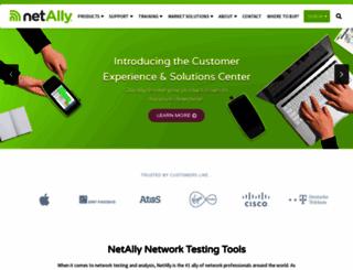netally.com screenshot