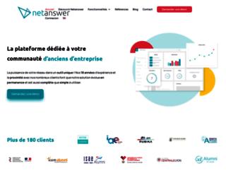 netanswer.fr screenshot