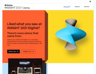 netapp-insight.com screenshot