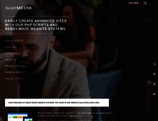 netartmedia.net screenshot