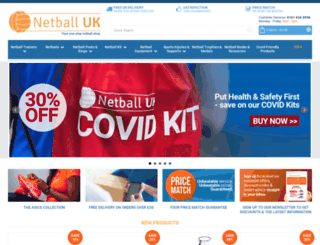 netballuk.co.uk screenshot