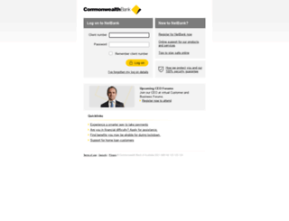 netbank.com.au screenshot