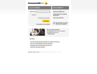 netbank.commbank.com.au screenshot