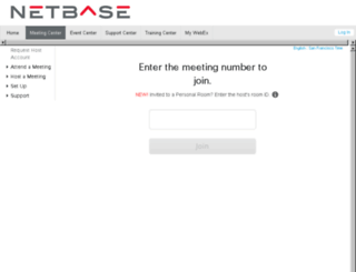 netbase.webex.com screenshot