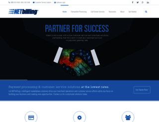 netbilling.com screenshot
